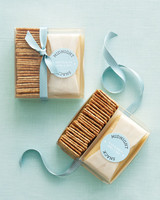 Cheese and Cracker Favors