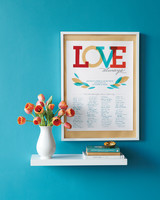 quote wedding guest book poster