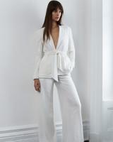 lein fall 2018 wedding dress two piece pantsuit trousers