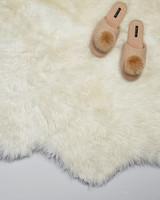 sheep skin rug