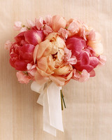 Girly Pink Wedding Bouquet