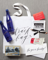 Saratoga welcome bag