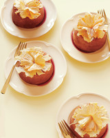 Pineapple Upside-Down Bundt Cakes