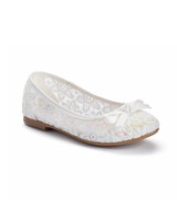 flower girl shoes lace