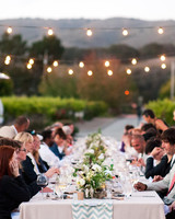 wedding bistro lights