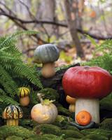 Makeshift Toadstool Pumpkins
