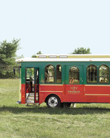 Wedding Transportation Trolley