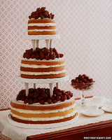 Strawberry Shortcake Wedding Cake