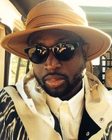 Dwyane Wade on Honeymoon in Tanzania