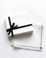 Custom Note Cards and Handkerchiefs