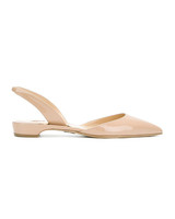 nude shoe tan slink back sandals