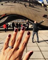 instagram ring selfie by ncg5892
