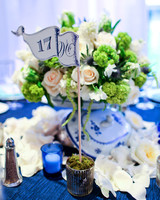 flag wedding table number