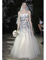 Wedding Dresses with Black Accents from Spring 2012 Bridal Fashion ...