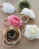 Silk Flower Headbands