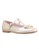 flower girl pink tstrap shoes