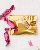 Gold Candy Wrapper