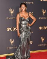 Laverne Cox Emmys Red Carpet 2017