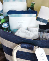 handwoven welcome tote