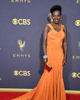 Viola Davis Emmys Red Carpet 2017