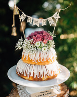 banner wedding decor cake kelsey kay