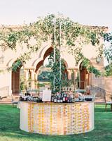 cavin david wedding round bar