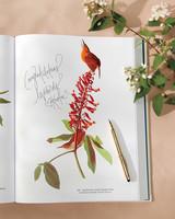 Audubon Guest Book
