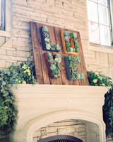 outdoor mantle decor