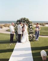 Lush Rose Trellis Wedding Arch