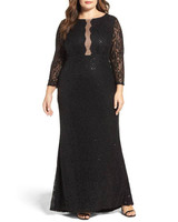 black maid of honor dress