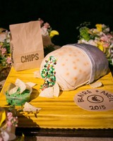 burrito chipotle groom cake