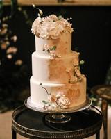 mia patrick wedding three tier cake