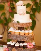 Confetti-Style Wedding Cake