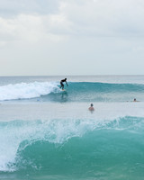 Surfing in Barbados