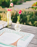 unity ceremony book flowers