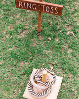 wedding games ring toss