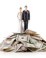 wedding topper cash