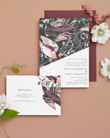 bird tree stationery