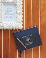 Ship's Log Guest Book