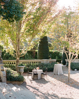Beaulieu Garden in Rutherford, California wedding reception venue