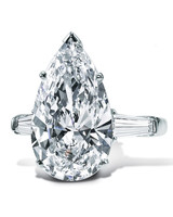 Graff Pear-Cut Diamond Engagement Ring