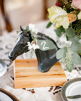 horse table number