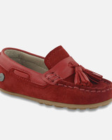 Mayoral red moccasin ring bearer shoe