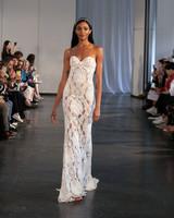 berta fall 2019 sheath strapless wedding dress