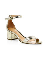 leather ankle-strap sandals bridesmaid shoes