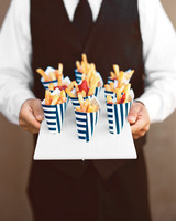 wedding french fries
