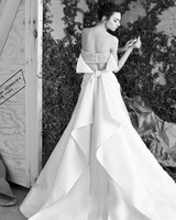 Carolina Herrera Bow Wedding Dress