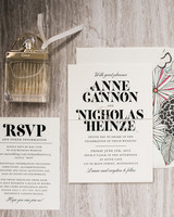 envelope invites megan daas