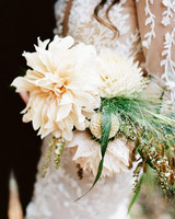 dahlias nature inspired floral bouquet with greenery