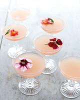 Lillet rosé cocktails